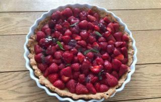 tarte-aux fraises-amandes