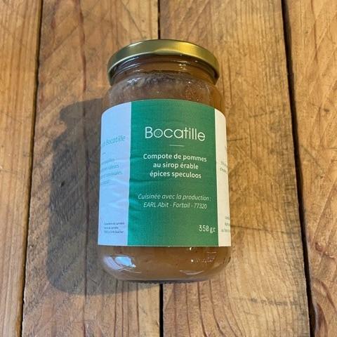 Compote pommes Bocatille