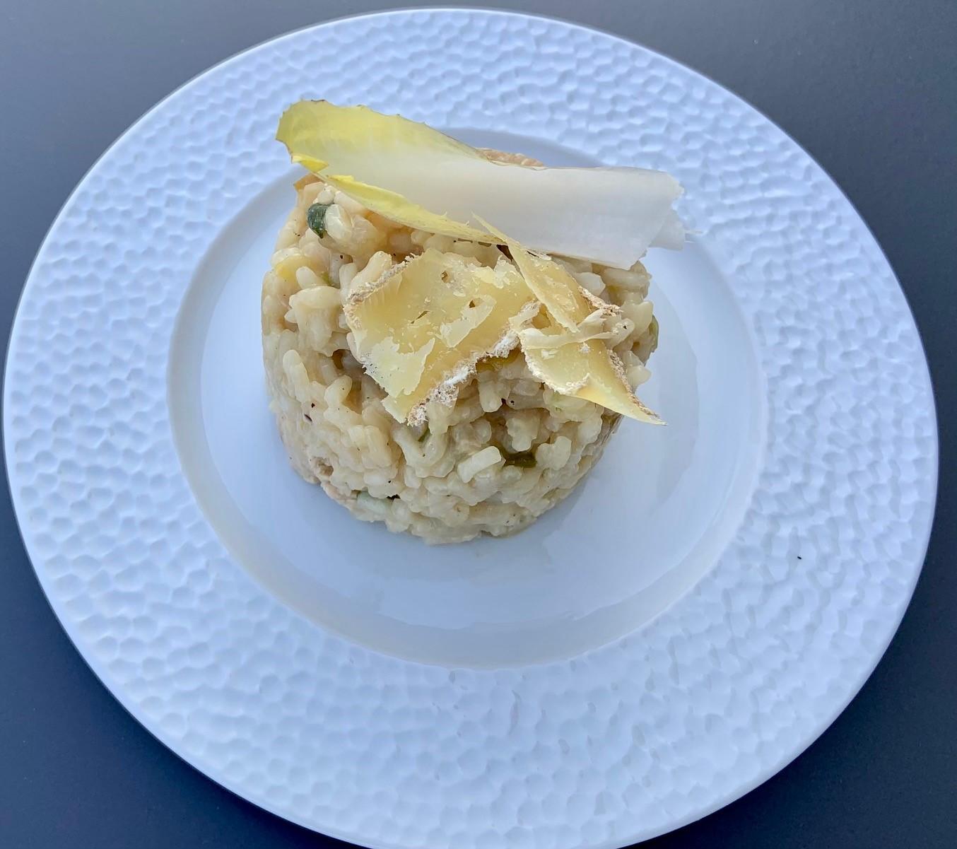 asperge sauce mousseline au citron